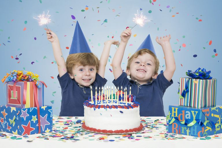 Birthday Party Themes for Twin Boys or Girls
