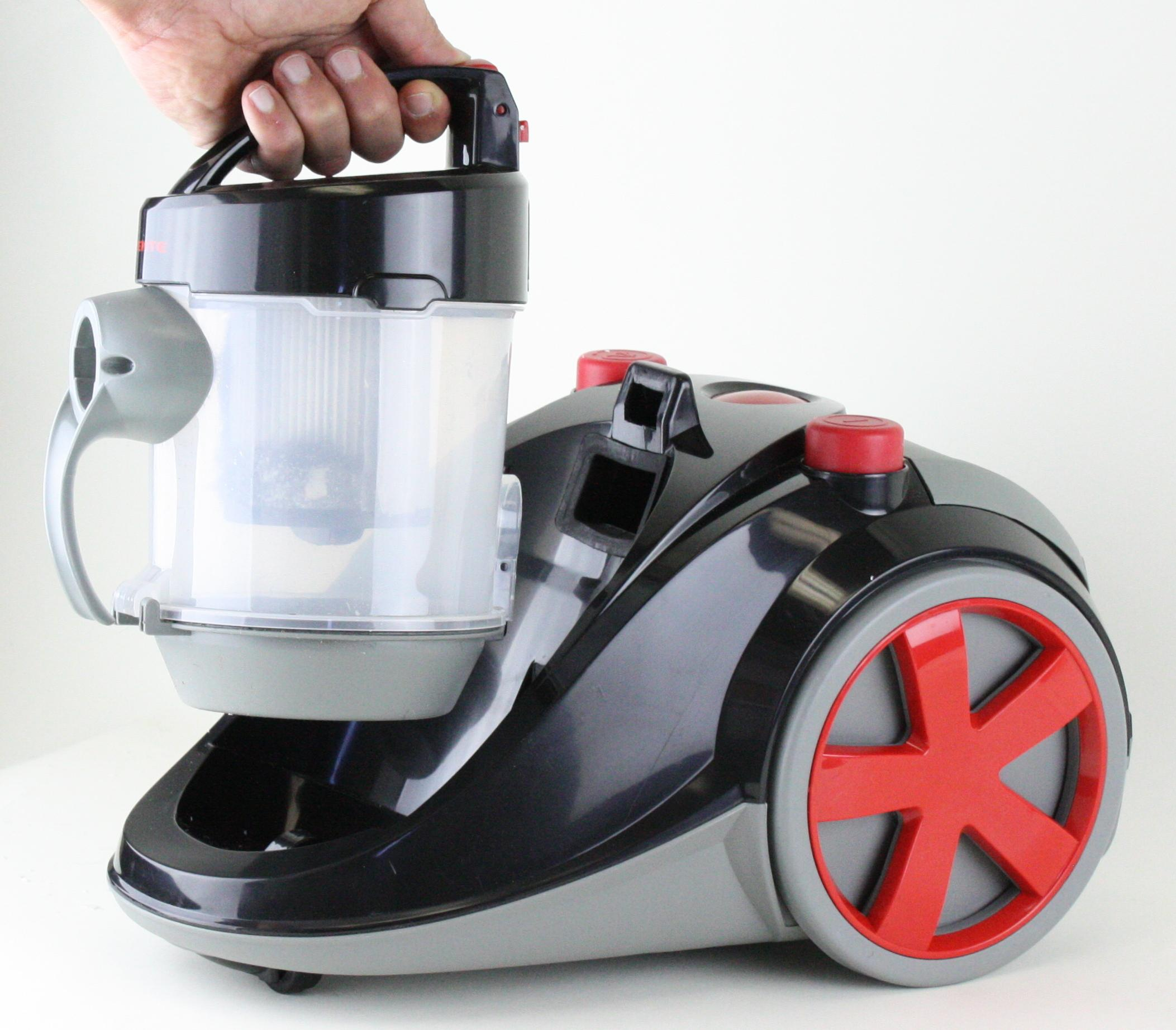 Review: Electrolux Harmony HEPA Canister Vacuum Cleaner